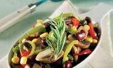 Mantarlı ve Fasulyeli Salata