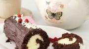 Beyaz Çikolatalı Rulo Pasta