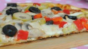 Mantarlı Pizza