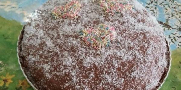 Labneli Çikolatalı Pasta
