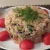 Patlıcanlı Pilav