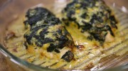 Ispanaklı Peynirli Tavuk