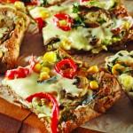 Sebzeli kolay pizza